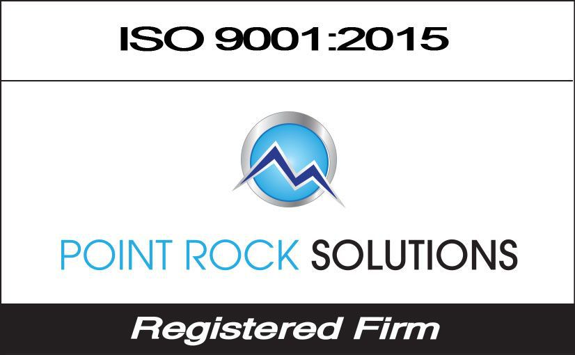 Point Rock Solutions ISO # 9001:2008